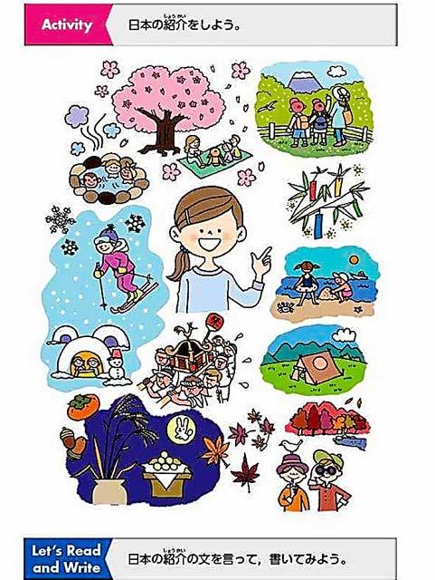 教科書一例 日本の紹介をしよう
